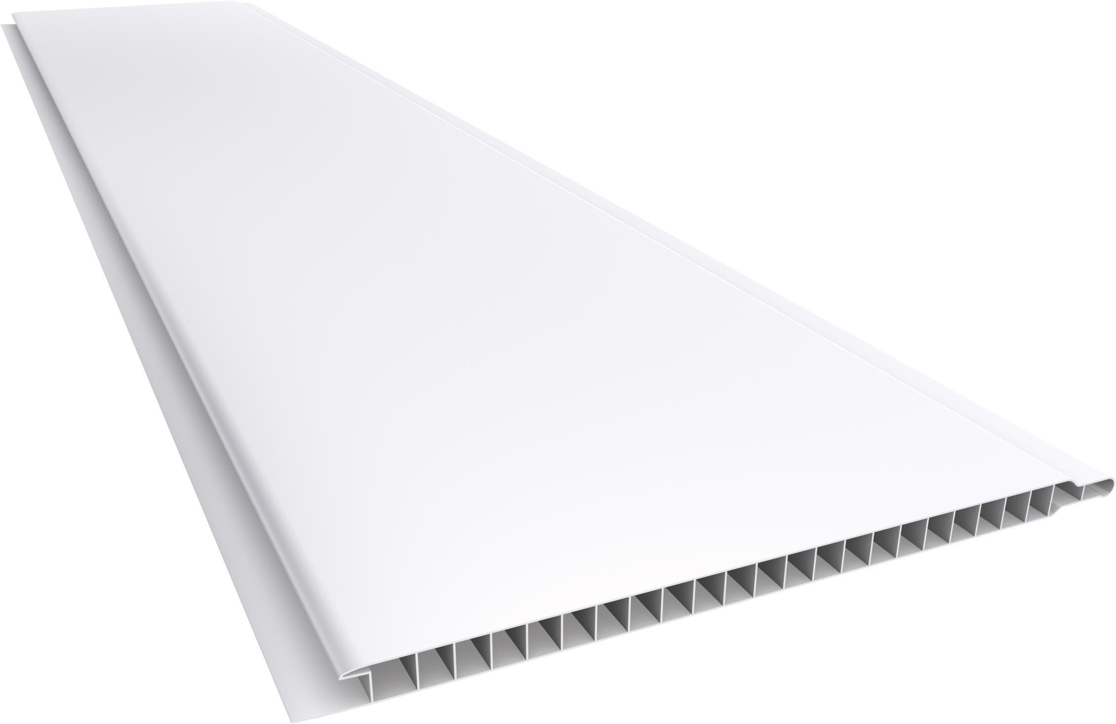 Forro PVC 200 Liso Junta Seca 10mm