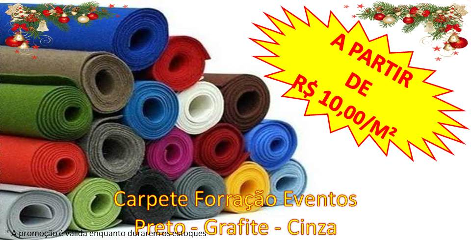 carpete forraçao